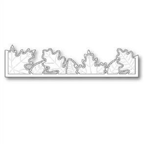 Poppystamps  Dies - Brilliant Leaf Border