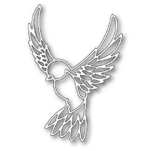 Poppystamps  Dies - Peaceful Dove