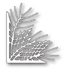Poppystamps  Dies - Wispy Pine Needle Corner