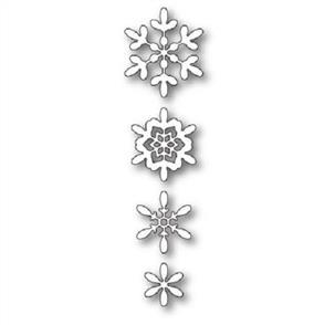 Poppystamps  Dies - Boho Snowflakes