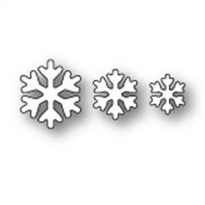 Poppystamps  Dies - Simple Snowflakes