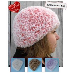 Countrywide Yarns Fab Fur Pattern P303 - Hat