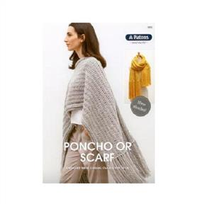 Patons  9003 Poncho or Scarf