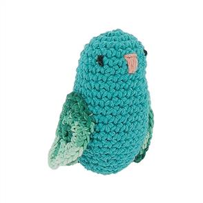 Hoooked Love Bird Yarn Kit W/Eco Barbante Yarn - Turquoise