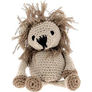 Hoooked Lion Leroy Yarn Kit - Beige & Taupe