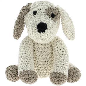 Hoooked Puppy Millie Yarn Kit - W/Eco Barbante Yarn