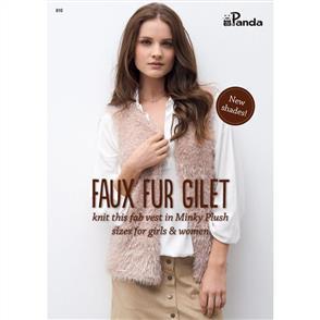 Panda 810 Faux Fur Gilet