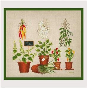 Le Bonheur Des Dames  Spices - Cross Stitch Kit