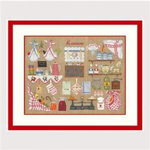 Le Bonheur Des Dames  Paris 2680 - Cross Stitch Kit