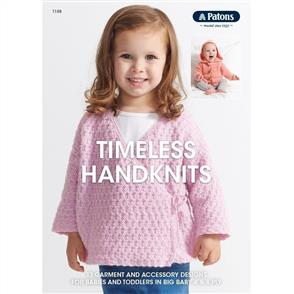 Patons Knitting Pattern Booklet 1108 - Timeless Handknits