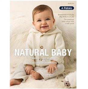 Patons Book 1315 - Natural Baby - 11 Patterns