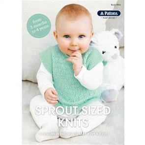 Patons Book 8026 - Sprout Sized Knits