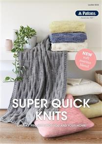 Patons Pattern 0035 - Super Quick Knits