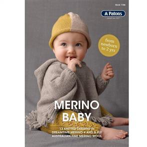 Patons  book 1106 - Merino Baby - 13 Designs
