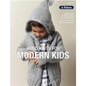Patons Book 1317 - Hand Knits for Modern Kids - 9 Patterns