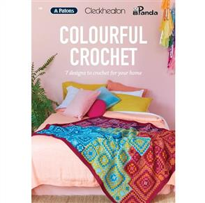 Patons BOOK 108 - Colourful Crochet - 7 Designs
