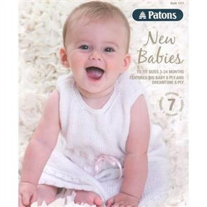Patons BOOK 1311 - New Babies - 7 Designs