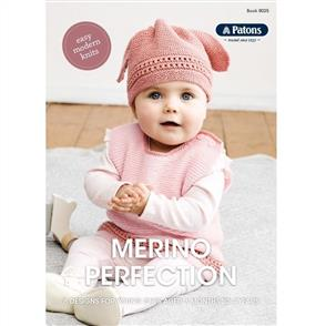 Patons BOOK 8025- Merino Perfection - 6 Designs