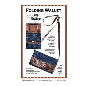 ByAnnie byannie Sewing Pattern - Folding Wallet