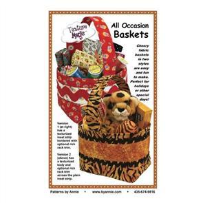 ByAnnie byannie Sewing Pattern - All Occasion Baskets