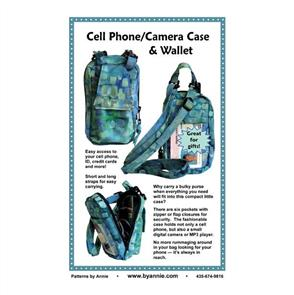 ByAnnie byannie Sewing Pattern - Cell Phone/Camera Case & Wallet