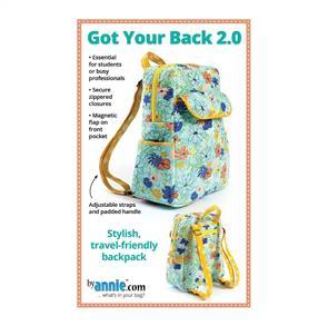 ByAnnie Pattern - Got Your Back 2.0