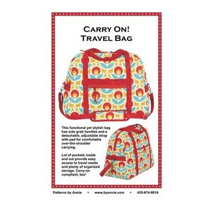 ByAnnie  byannie Sewing Pattern - Carry On! Travel Bag