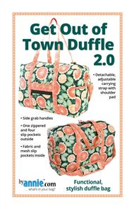 ByAnnie Pattern - Get Out Of Town Duffle 2.0