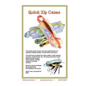 ByAnnie byannie Sewing Pattern - Quick Zip Cases