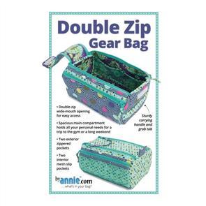 ByAnnie byannie Sewing Pattern - Double Zip Gear Bag