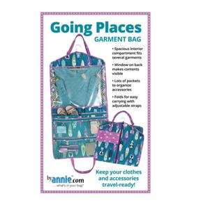 ByAnnie Pattern - Going Places Garment Bag