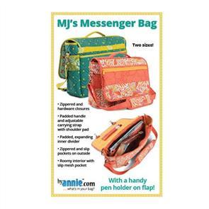 ByAnnie  byannie Sewing Pattern - MJ's Messenger Bag