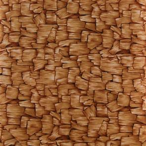 P & B Textiles  P&B Textiles - Countryscapes - Wood Planks Gold
