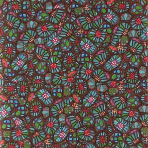 P & B Textiles  P&B Textiles - Love Lies Here - Funky Floral Multi