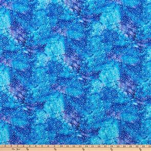 P & B Textiles  - Wild Bird - 4008 Blue