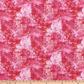P & B Textiles  - Wild Birds - 4008 Pink