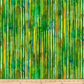 P & B Textiles  - Wild Bird - 4009 Green