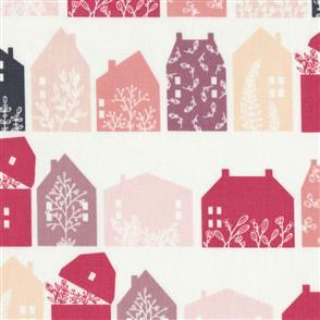 Poppie Cotton  Gingham Farmhouse - 19103 Pink