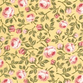 Poppie Cotton  Gingham Farmhouse - 19114 Yellow
