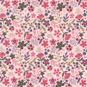 Poppie Cotton  Gingham Farmhouse - 19116 Pink