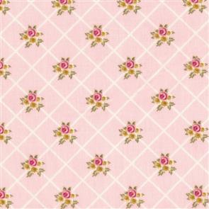 Poppie Cotton  Gingham Farmhouse - 19119 Pink