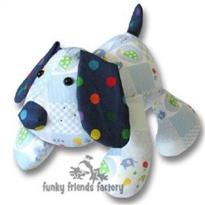 Funky Friends Factory  Puppy Dog Pete Soft Toy Sewing Pattern