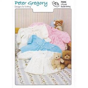 Peter Gregory  Pattern 7095 - Matinee Jacket