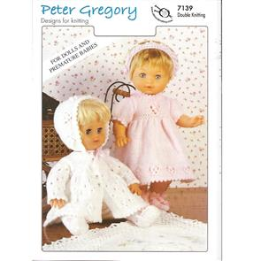 Peter Gregory  Pattern 7139 - Doll's Outfits