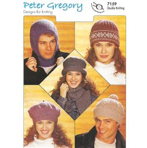 Peter Gregory  Pattern 7159 Balaclava, Hats and Scarf
