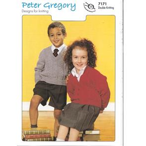 Peter Gregory  Pattern 7171 - Sweater and Cardigan