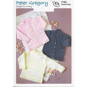 Peter Gregory  Pattern 7190 - Sweater and Cardigans