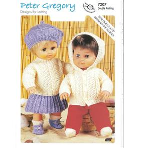 Peter Gregory  Pattern 7207 - Doll's Outfits