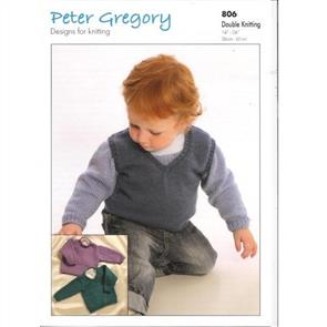 Peter Gregory  Pattern 806 - Sweaters