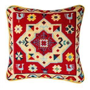 Jolly Red Tapestry Kit - Peacock Star